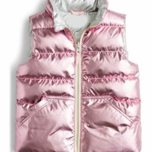 Destiny Baker Bunkd Pink Puffer Vest