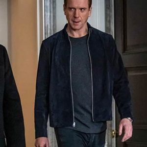 Bobby Axelrod Billions S05 Suede Leather Jacket