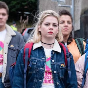 Derry Girls Erin Blue Denim Jacket
