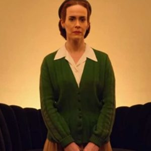Nurse Mildred Ratched Green Sweater