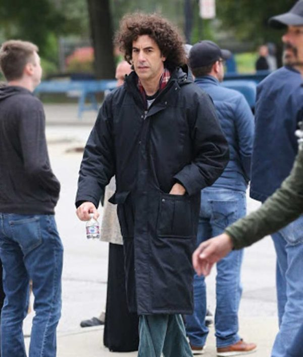 The Trial Of The Chicago 7 Sacha Baron Cohen Coat