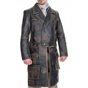 Grant Bowler Defiance Leather Coat