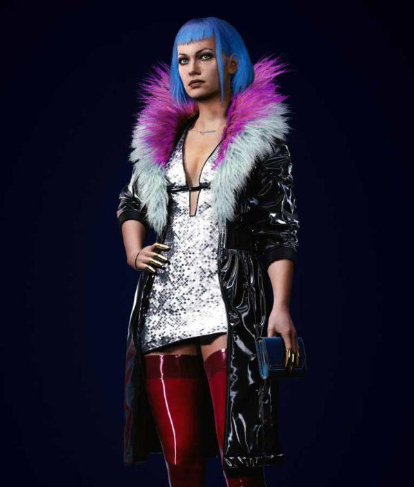 Cyberpunk 2077 Evelyn Parker Leather Coat