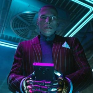Cyberpunk 2077 Mr. Goldhand Blazer