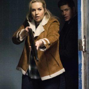 Donna Hanscum Supernatural Shearling Jacket