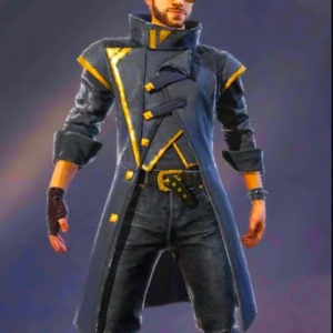 Alok-Free-Fire-Battlegrounds-Leather-Coat