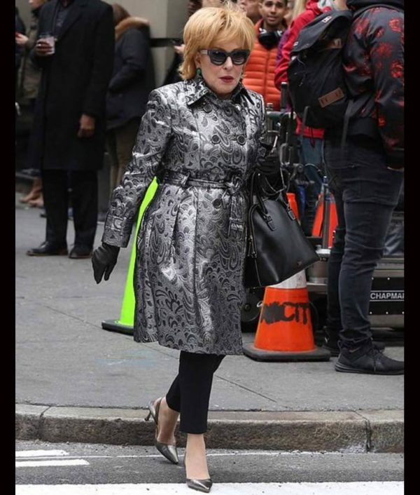 Bette-Midler-The-Politician-Season-02-Leather-Coat
