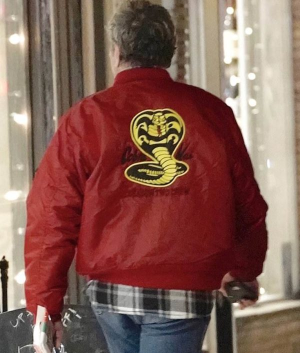 Cobra-Kai-The-Karate-Kid-Red-Bomber-Jacket