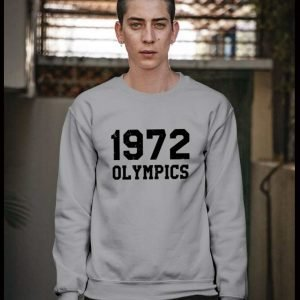 1972 Olympics Crewneck Grey Sweatshirt