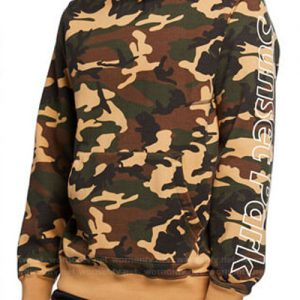 Andre 'Dre' Johnson Black-ish Anthony Anderson Camo Pullover Hoodie