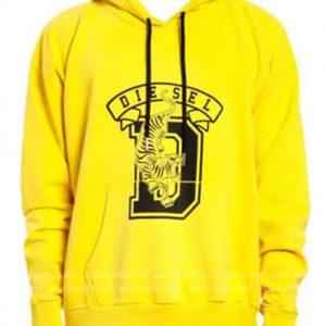 Andre 'Dre' Johnson Black-ish Yellow Diesel Pullover Hoodie