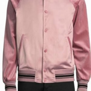 Andre 'Dre' Johnson Black-ish Anthony Anderson Pink Varsity Jacket