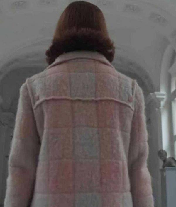 Anya Taylor-Joy The Queen's Gambit Beth Harmon Pink Coat