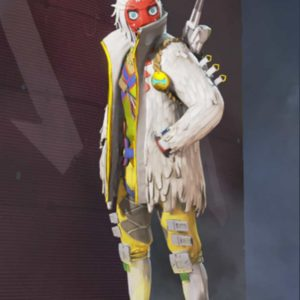 Crypto The Masked Dancer Apex Legends S03 White Jacket