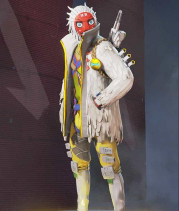 Crypto The Masked Dancer Apex Legends S03 White Jacket