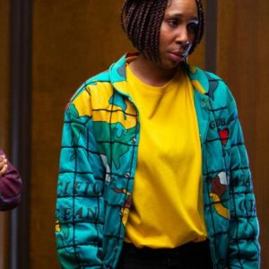 Brook-Lynne Bad Hair Bomber Jacket