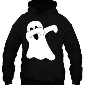 Black Dab Dance Spooky Unisex Dabbing Ghost Hoodie