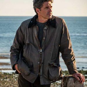 Patrick Dempsey TV Series Devils Dominic Morgan Brown Cotton Jacket