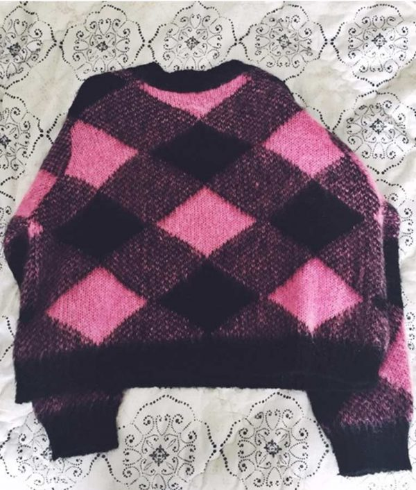 Emily In Paris Lily Collins Pink Sweater
