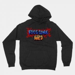 Foos Gone Wild Logo Unisex Hoodie