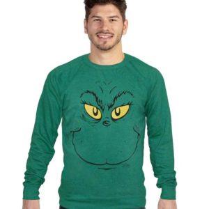 Ugly Face Grinch Christmas Sweatshirt
