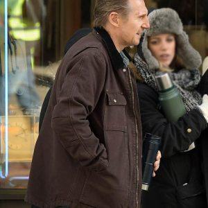 Liam Neeson Honest Thief Tom Brown Cotton Jacket