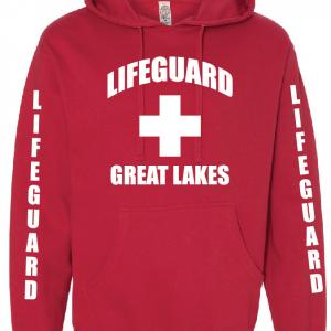Great Lakes Lifeguard Unisex Hoodie