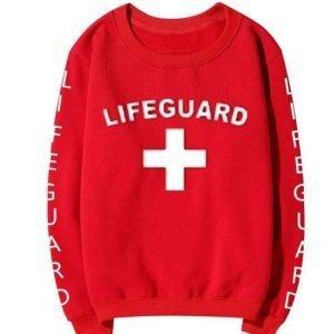 Lifeguard Red Unisex Sweatshirt