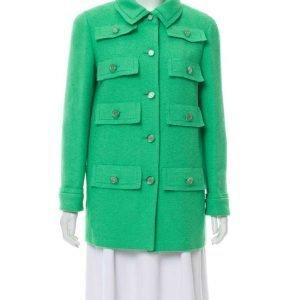 Emily In Paris Green Multi Pocket Coat