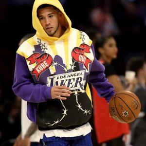 Devin Booker Los Angeles Lakers Kobe Hoodie