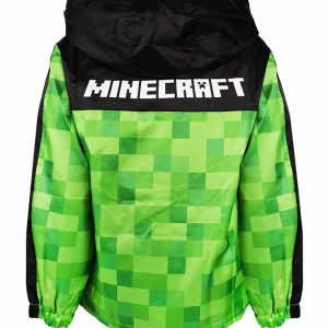 Minecraft Green And Black Checkered Pullover Hoodie