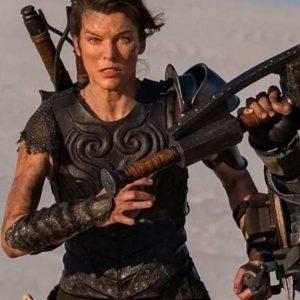 Artemis Monster Hunter Milla Jovovich Leather Vest