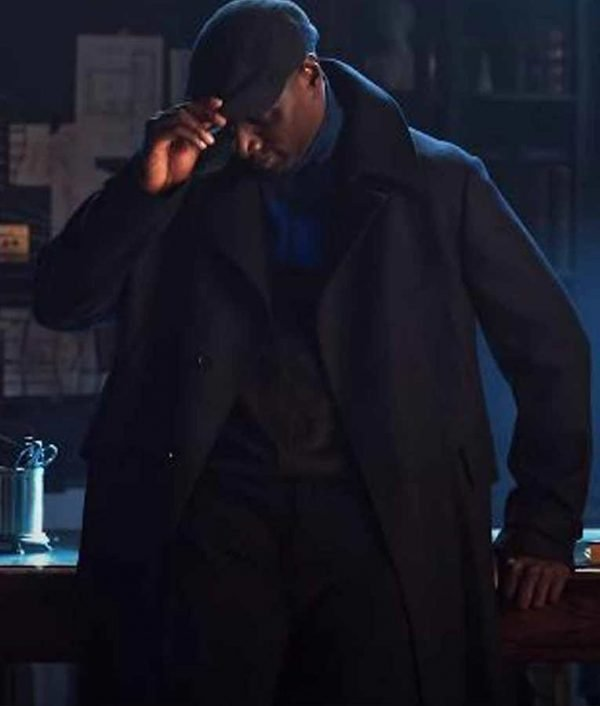 Arsene Lupin Omar Sy Trench Coat