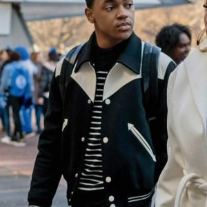 TV Series Power Book II Ghost Michael Rainey Jr. Bomber Jacket