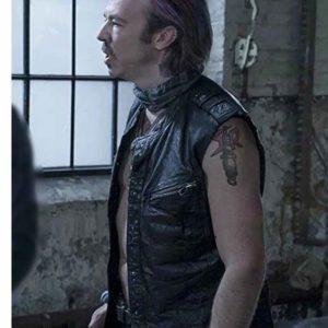 Puck Leather Vest