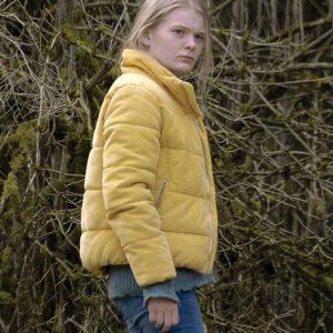 Mona Sleep 2020 Gro Swantje Kohlhof Yellow Puffer Jacket