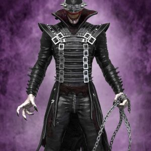 Batman from The Batman Who Laughs Black Leather Coat