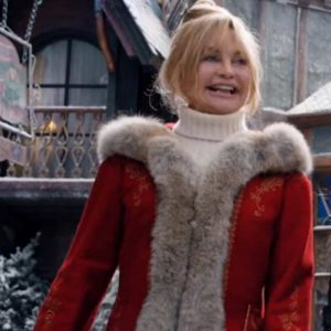 Mrs. Claus Jacket Goldie Hawn The Christmas Chronicles 2 Coat
