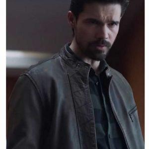 Jim Holden The Expanse Season 04 Steven Strait Brown Leather Jacket