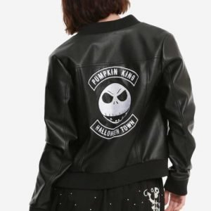 Chris Sarandon The Nightmare Before Christmas Jack Skellington Leather Jacket