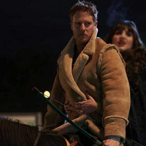 What We Do in the Shadows Jake McDorman Shearling Jacket