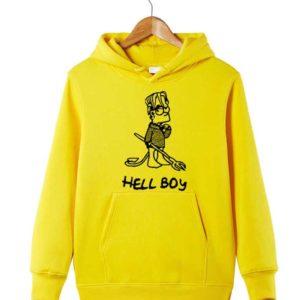 Lil Peep Hell boy Yellow Hoodie