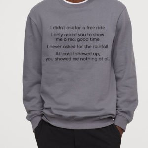 Elton Your Song Lightweight Sweatshirt