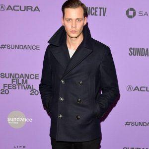 2020 Sundance Film Festival Nine Days Bill Skarsgår Black Peacoat