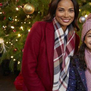 Laura Bertram A Christmas Tree Grows in Colorado Maroon Coat