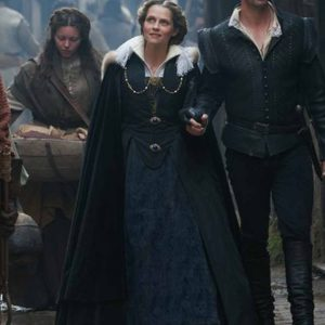 Tv-Series A Discovery Of Witches Deborah Harkness Velvet Cloak Coat with Hood