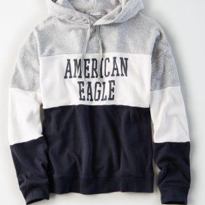 American Eagle Super Soft Fleece Pullover Hoodie