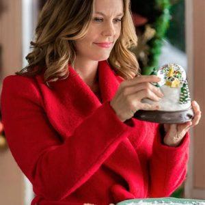 Christmas in Evergreen Ashley Williams Coat