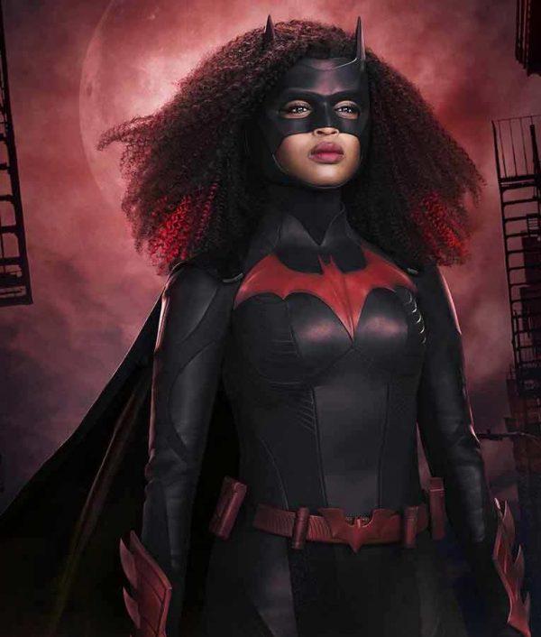 Javicia Leslie Batwoman S02 Ryan Wilder Black Leather Jacket
