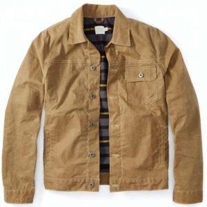 Cody Hoyt Big Sky Ryan Phillippe Tan Brown Jacket